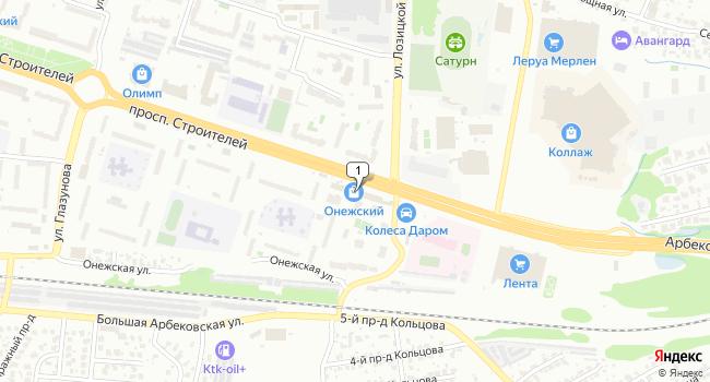 Арендовать торговую площадь 347 м<sup>2</sup> в Пензе по адресу Россия, Пенза, 1-й Онежский проезд, 4