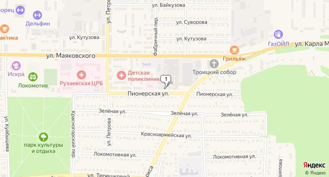 Купить коммерческую недвижимость 4620 м<sup>2</sup> в Рузаевке по адресу Россия, Республика Мордовия, Рузаевка, Пионерская улица, 119