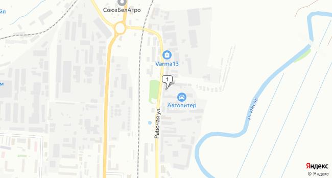 Купить склад 4811 м<sup>2</sup> в Саранске по адресу Россия, Республика Мордовия, Саранск, Рабочая улица, 173