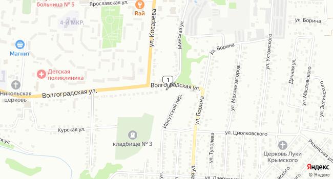 Купить торговую площадь 985 м<sup>2</sup> в Саранске по адресу Россия, Республика Мордовия, Саранск, Волгоградская улица, 199