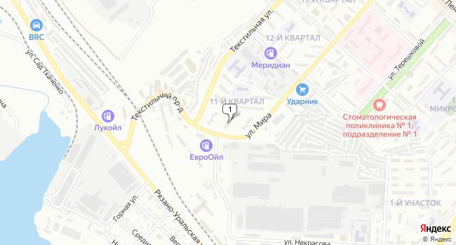 Купить коммерческую недвижимость 2000 м<sup>2</sup> в Камышине по адресу Россия, Волгоградская область, Камышин, 11-й квартал, 2