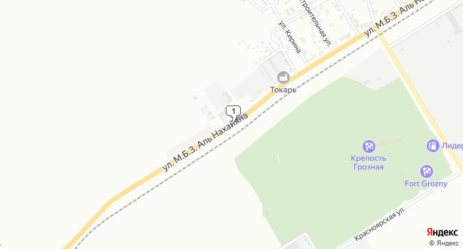 Арендовать коммерческую недвижимость 1200 м<sup>2</sup> в Грозном по адресу Россия, Чеченская Республика, Грозный, Индустриальная улица