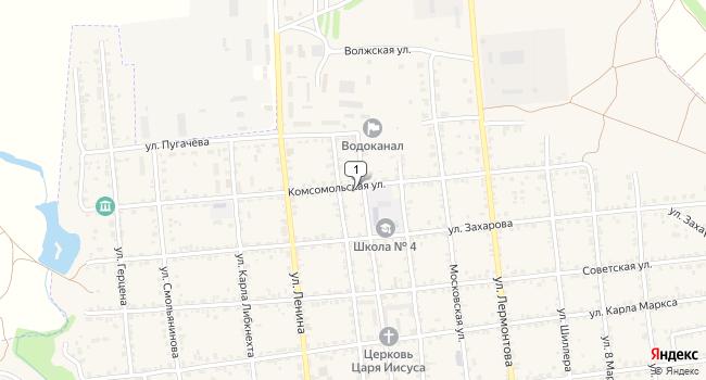 Арендовать офис 20 м<sup>2</sup> в Красноармейске по адресу Россия, Саратовская область, Красноармейск, Комсомольская улица, 42