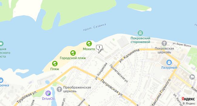 Арендовать торговую площадь 80 м<sup>2</sup> в Энгельсе по адресу Россия, Саратовская область, Энгельс, Пролетарская улица, 1