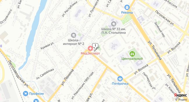 Арендовать торговую площадь 815 м<sup>2</sup> в Энгельсе по адресу Россия, Саратовская область, Энгельс, Степная улица, 35