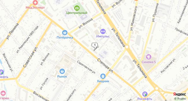 Арендовать торговую площадь 440 м<sup>2</sup> в Энгельсе по адресу Россия, Саратовская область, Энгельс, Степная улица, 57