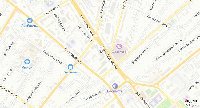 Арендовать торговую площадь 999 м<sup>2</sup> в Энгельсе по адресу Россия, Саратовская область, Энгельс, улица Тельмана, 26