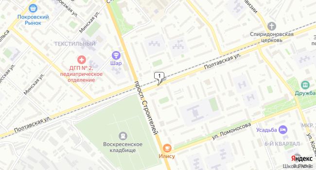 Арендовать склад 50 м<sup>2</sup> в Энгельсе по адресу Россия, Саратовская область, Энгельс, Полтавская улица