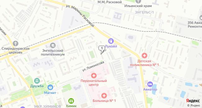 Арендовать торговую площадь 28.3 м<sup>2</sup> в Энгельсе по адресу Россия, Саратовская область, Энгельс, Полтавская улица, 35