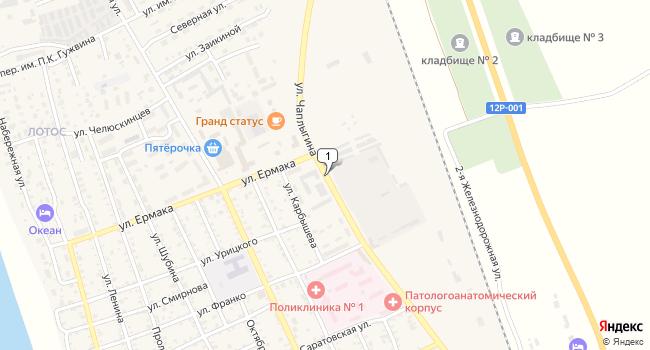 Арендовать офис 713 м<sup>2</sup> в Ахтубинске по адресу Россия, Астраханская область, Ахтубинск, улица Чаплыгина