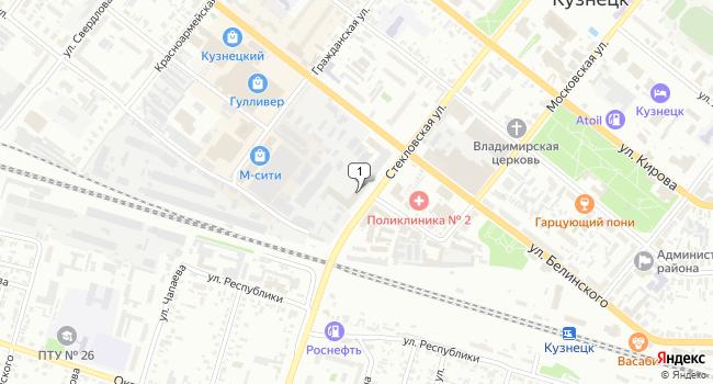 Купить производственное помещение 11180 м<sup>2</sup> в Кузнецке по адресу Россия, Пензенская область, Кузнецк, Гражданская улица, 85к1