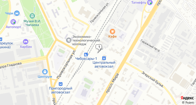 Арендовать офис 16 м<sup>2</sup> в Чебоксарах по адресу Россия, Чувашская Республика, Чебоксары, проспект Мира, 78А