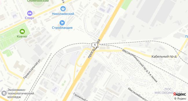 Арендовать офис 17 м<sup>2</sup> в Чебоксарах по адресу Россия, Чувашская Республика, Чебоксары, проспект Мира