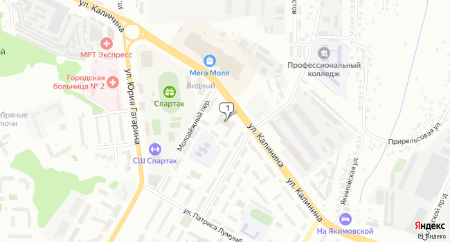 Арендовать торговую площадь 175 м<sup>2</sup> в Чебоксарах по адресу Россия, Чувашская Республика, Чебоксары, Молодёжный переулок, 1А