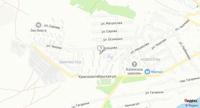 Купить офис 186 м<sup>2</sup> в Вольске по адресу Россия, Саратовская область, Вольск, улица Кольцова, 5