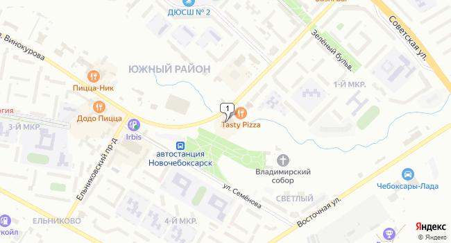 Арендовать торговую площадь 330 м<sup>2</sup> в Новочебоксарске по адресу Россия, Чувашская Республика, Новочебоксарск, улица Винокурова, 55