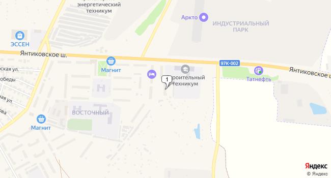 Купить торговую площадь 104 м<sup>2</sup> в Канаше по адресу Россия, Чувашская Республика, Канаш, микрорайон Восточный, 28