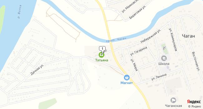Купить земельный участок 40000 м<sup>2</sup> в Камызяке по адресу Россия, Астраханская область, Камызякский район, село Чаган, Дачная улица
