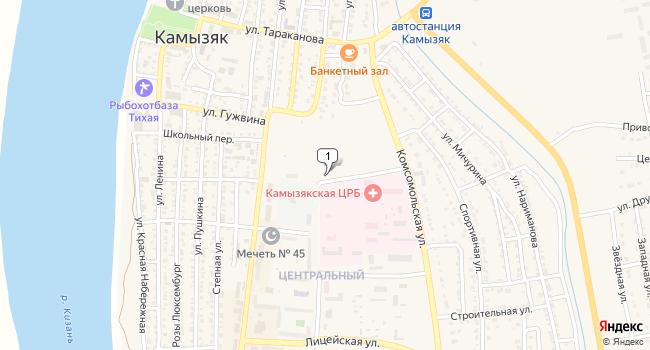 Купить коммерческую недвижимость 316 м<sup>2</sup> в Камызяке по адресу Россия, Астраханская область, Камызяк