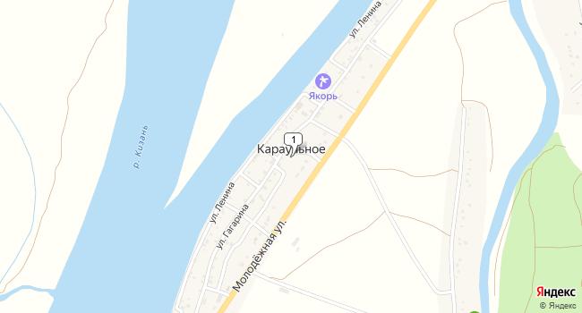 Купить коммерческую недвижимость 993 м<sup>2</sup> в Камызяке по адресу Россия, Астраханская область, Камызякский район, село Караульное