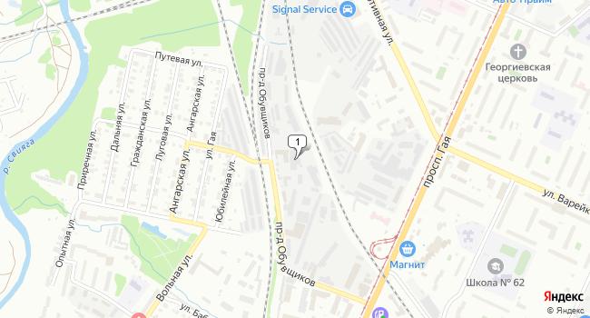 Арендовать производственное помещение 849 м<sup>2</sup> в Ульяновске по адресу Россия, Ульяновск, проезд Обувщиков, 8