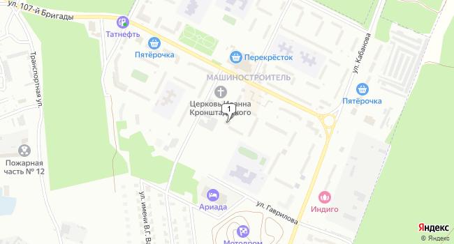 Купить коммерческую недвижимость 644 м<sup>2</sup> в Волжске по адресу Россия, Республика Марий Эл, Волжск, улица 107-й Бригады, 10А