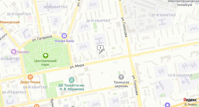 Арендовать торговую площадь 147 м<sup>2</sup> в Тольятти по адресу Россия, Самарская область, Тольятти, улица Мира, 96