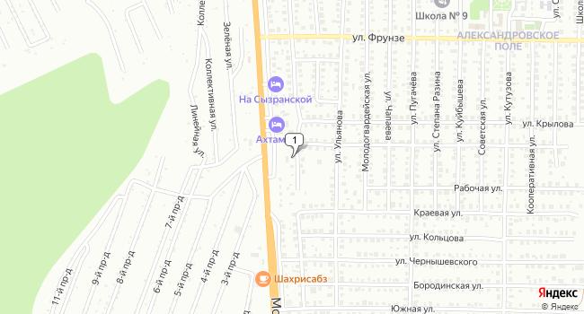 Купить торговую площадь 517 м<sup>2</sup> в Жигулевске по адресу Россия, Самарская область, Жигулевск, поселок Александровское Поле, Полтавская улица, 32А