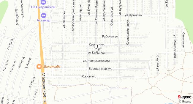 Купить торговую площадь 517 м<sup>2</sup> в Жигулевске по адресу Россия, Самарская область, Жигулевск, поселок Александровское Поле, улица Кольцова