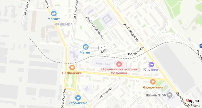Арендовать торговую площадь 76 м<sup>2</sup> в Кирове по адресу Россия, Киров, Подгорная улица, 5