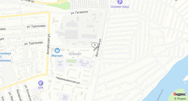 Купить офис 261 м<sup>2</sup> в Димитровграде по адресу Россия, Ульяновская область, Димитровград, Восточная улица, 40