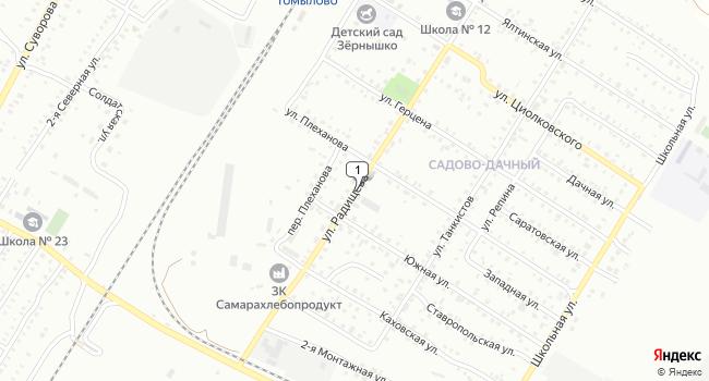 Арендовать склад 200 м<sup>2</sup> в Чапаевске по адресу Россия, Самарская область, Чапаевск, улица Радищева