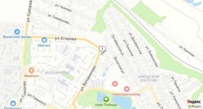 Арендовать склад 2500 м<sup>2</sup> в Новокуйбышевске по адресу Россия, Самарская область, Новокуйбышевск, Самарская улица, 1Б