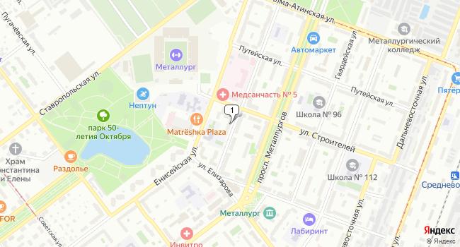 Арендовать офис 33 м<sup>2</sup> в Самаре по адресу Россия, Самара, Республиканская улица, 52