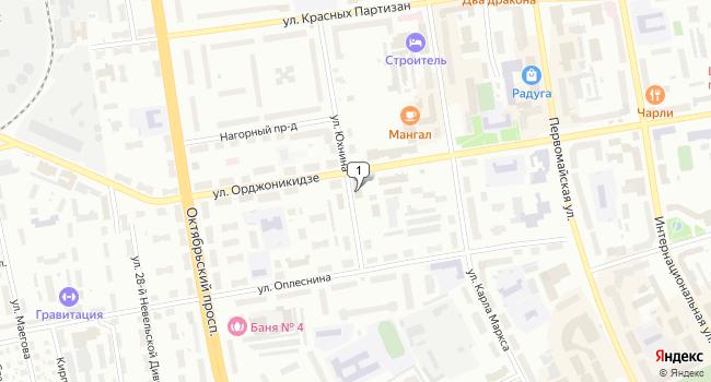 Купить офис 900 м<sup>2</sup> в Сыктывкаре по адресу Россия, Республика Коми, Сыктывкар, улица Орджоникидзе, 51
