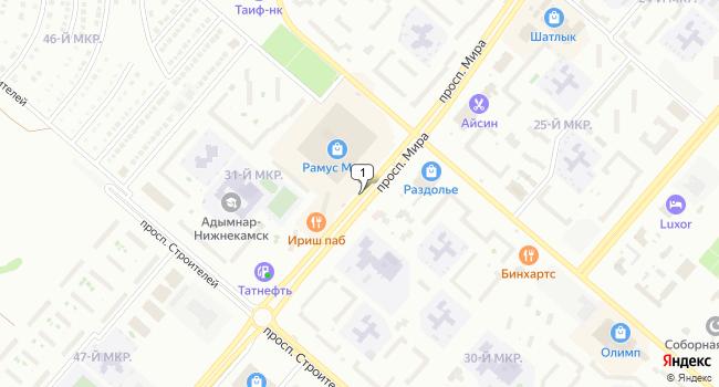 Арендовать торговую площадь 30000 м<sup>2</sup> в Нижнекамске по адресу Россия, Республика Татарстан, Нижнекамск, проспект Мира