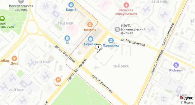 Арендовать торговую площадь 114 м<sup>2</sup> в Нижнекамске по адресу Россия, Республика Татарстан, Нижнекамск, проспект Шинников, 38