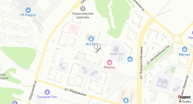Арендовать отдельное здание 1000 м<sup>2</sup> в Елабуге по адресу Россия, Республика Татарстан, Елабуга, улица Марджани, 30А
