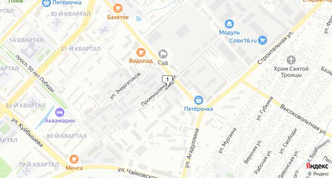 Купить офис 568 м<sup>2</sup> в Лениногорске по адресу Россия, Республика Татарстан, Лениногорск, Промышленная улица, 7