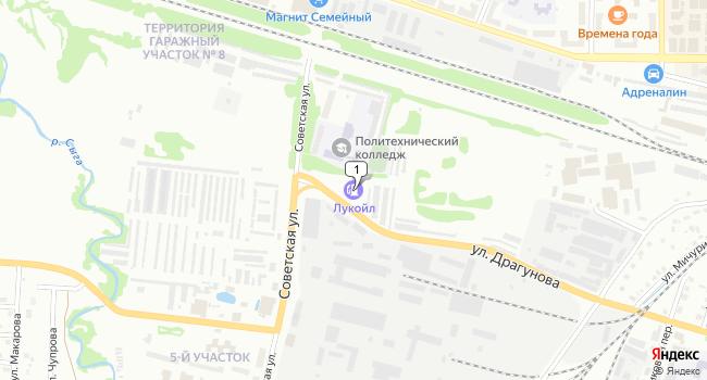 Купить земельный участок 80000 м<sup>2</sup> в Глазове по адресу Россия, Удмуртская Республика, Глазов, Советская улица, 45