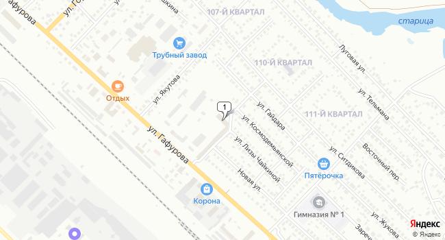 Купить коммерческую недвижимость 2785 м<sup>2</sup> в Туймазах по адресу Россия, Республика Башкортостан, Туймазы, улица Гафурова, 45В