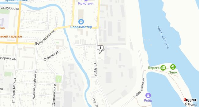 Купить склад 955 м<sup>2</sup> в Сарапуле по адресу Россия, Удмуртская Республика, Сарапул, Центральный район, улица Труда, 61А