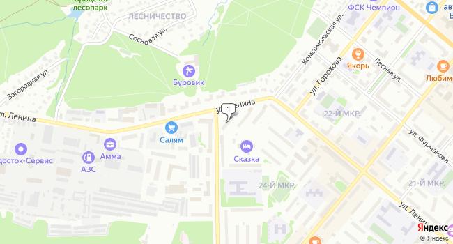 Купить офис 30 м<sup>2</sup> в Белебее по адресу Россия, Республика Башкортостан, Белебей, улица Ленина, 17