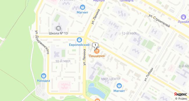 Арендовать коммерческую недвижимость 42 м<sup>2</sup> в Нефтекамске по адресу Россия, Республика Башкортостан, Нефтекамск, Социалистическая улица, 99