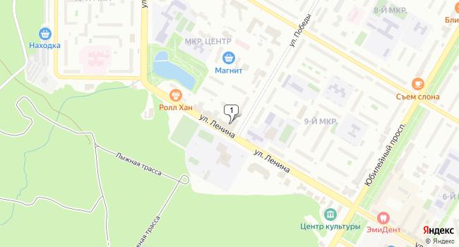 Арендовать торговую площадь 80 м<sup>2</sup> в Нефтекамске по адресу Россия, Республика Башкортостан, Нефтекамск, улица Ленина, 58