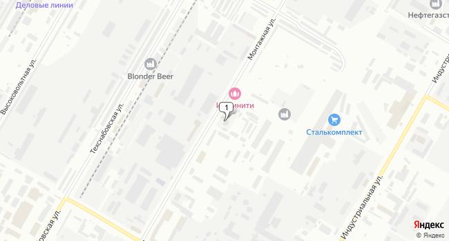 Арендовать коммерческую недвижимость 200 м<sup>2</sup> в Нефтекамске по адресу Россия, Республика Башкортостан, Нефтекамск, Монтажная улица, 12