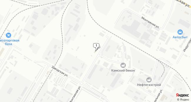 Арендовать торговую площадь 10 м<sup>2</sup> в Нефтекамске по адресу Россия, Республика Башкортостан, Нефтекамск, Монтажная улица, 9