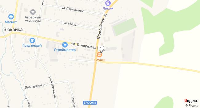Купить торговую площадь 114 м<sup>2</sup> в Верещагино по адресу Россия, Пермский край, Верещагинский район, поселок Зюкайка, Юбилейная улица, 2