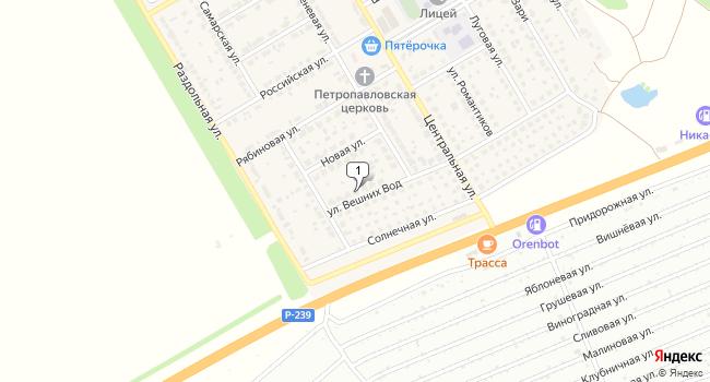 Арендовать склад 300 м<sup>2</sup> в Оренбурге по адресу Россия, Оренбургская область, Оренбургский район, село Павловка, улица Вешних Вод, 7