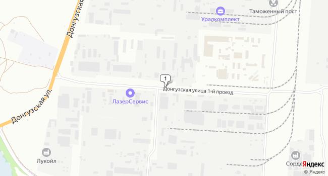 Купить земельный участок 5600 м<sup>2</sup> в Оренбурге по адресу Россия, Оренбург, улица Донгузская 1-й проезд